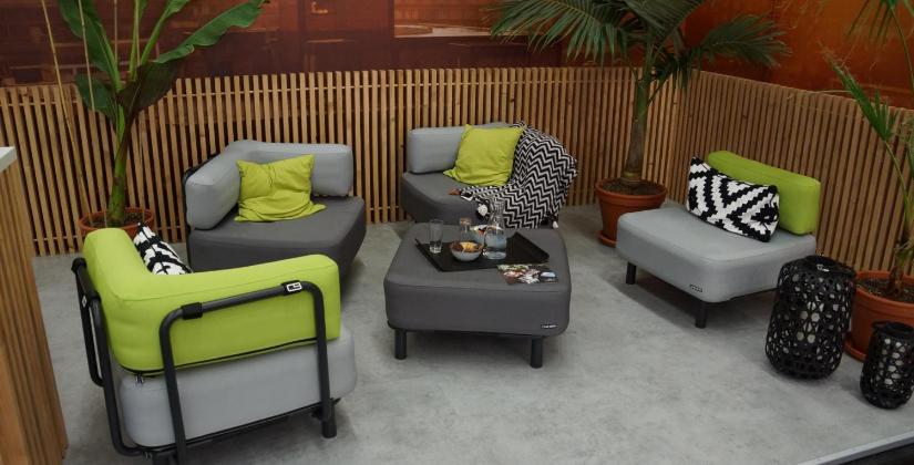 Loungemöbel - ONE BAR - für Wohnung und Terrasse