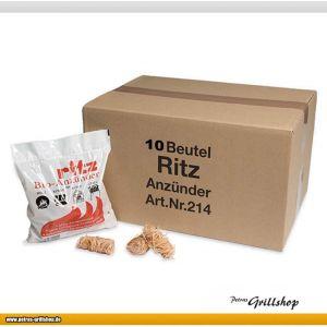 Ritz Bio-Anzünder Grillanzünder Kaminanzünder 130 Stück