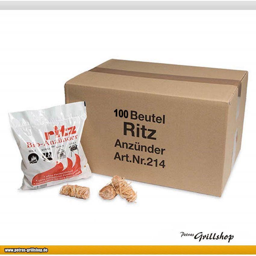 Ritz Bio -  Anzünder Grillanzünder Kaminanzünder 1300 Stück