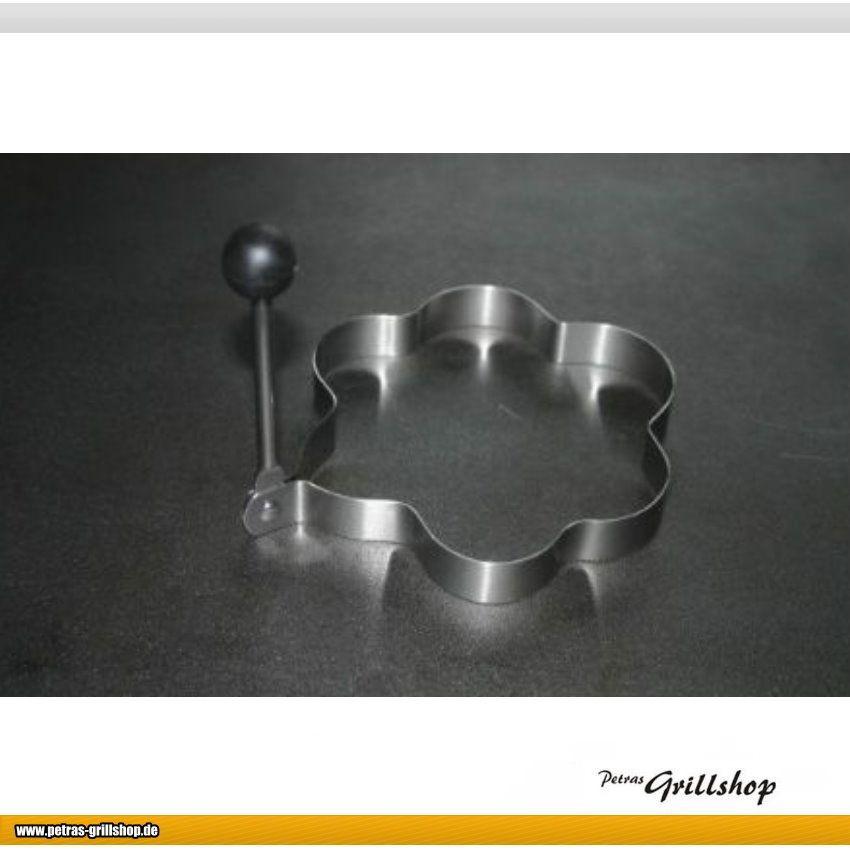Spiegeleiformer Eierring - Setzring  - Blumenform