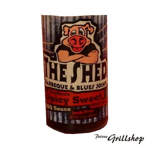 The Shed Spicy Sweet BBQ Sauce