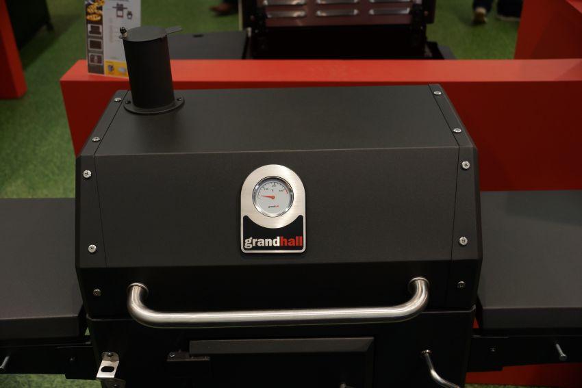 Grandhall Holzkohlegrill Xenon Test : Grandhall holzkohlegrill xenon charcoal