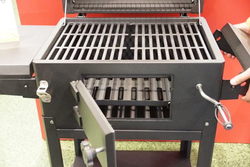 Grandhall Holzkohlegrill Xenon Charcoal Grill Fachgesch 228 Ft