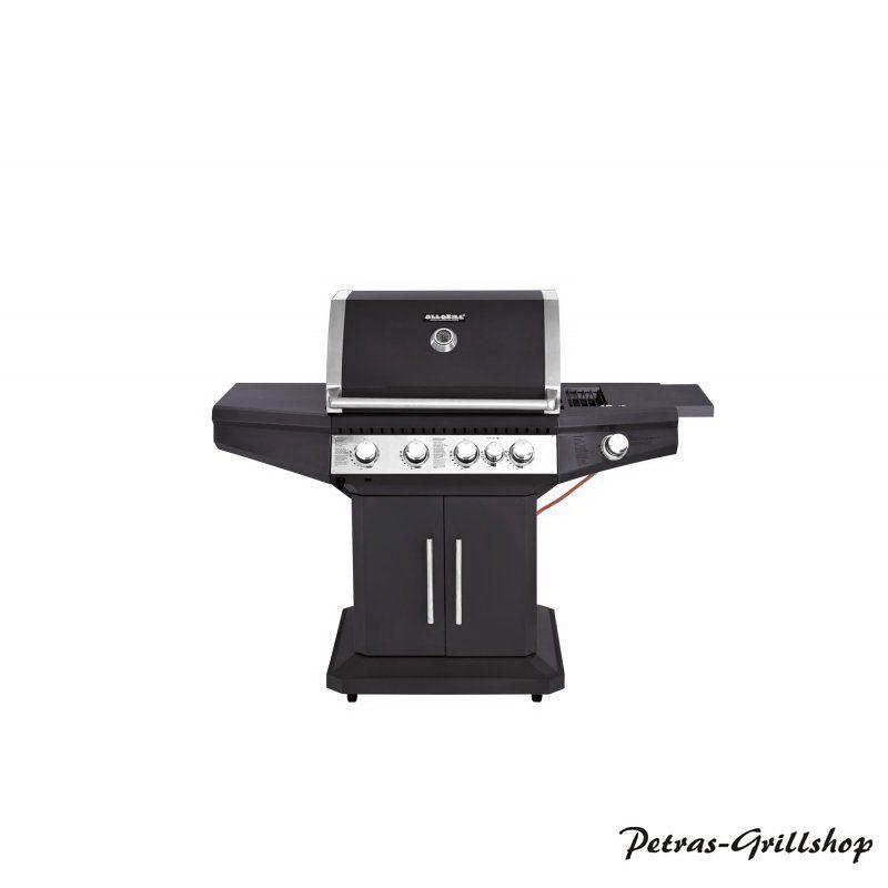 Allgrill Barbecue Gasgrill mit Backburner *Star* schwarz