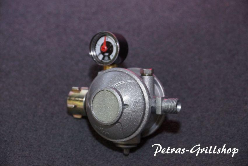 Gasregler 2-stufig mit Kontrollmanometer