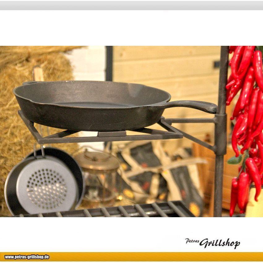 Pfannenhalter für Toms Westernküche