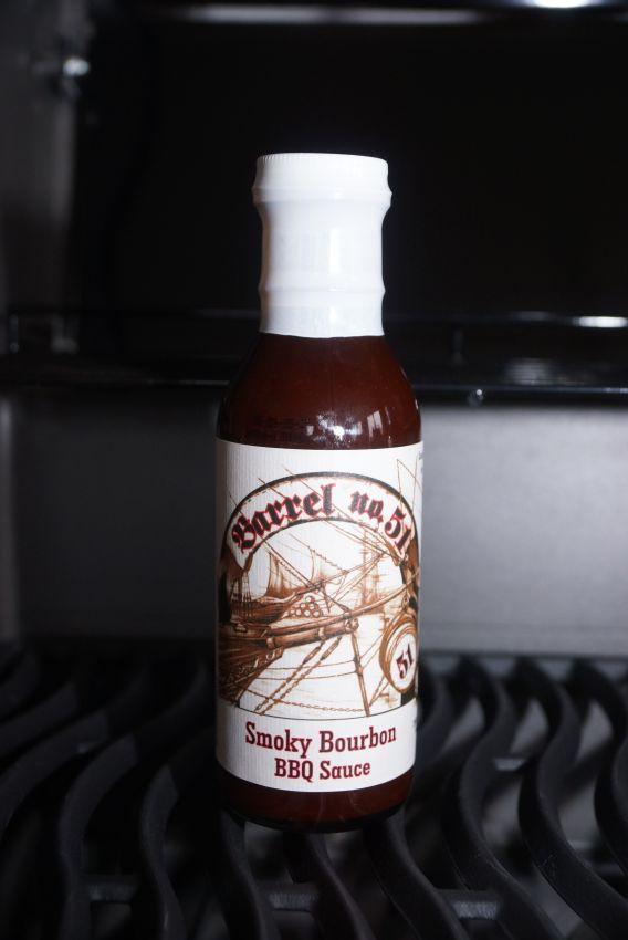 Barrel 51st Smokey Bourbon BBQ Sauce