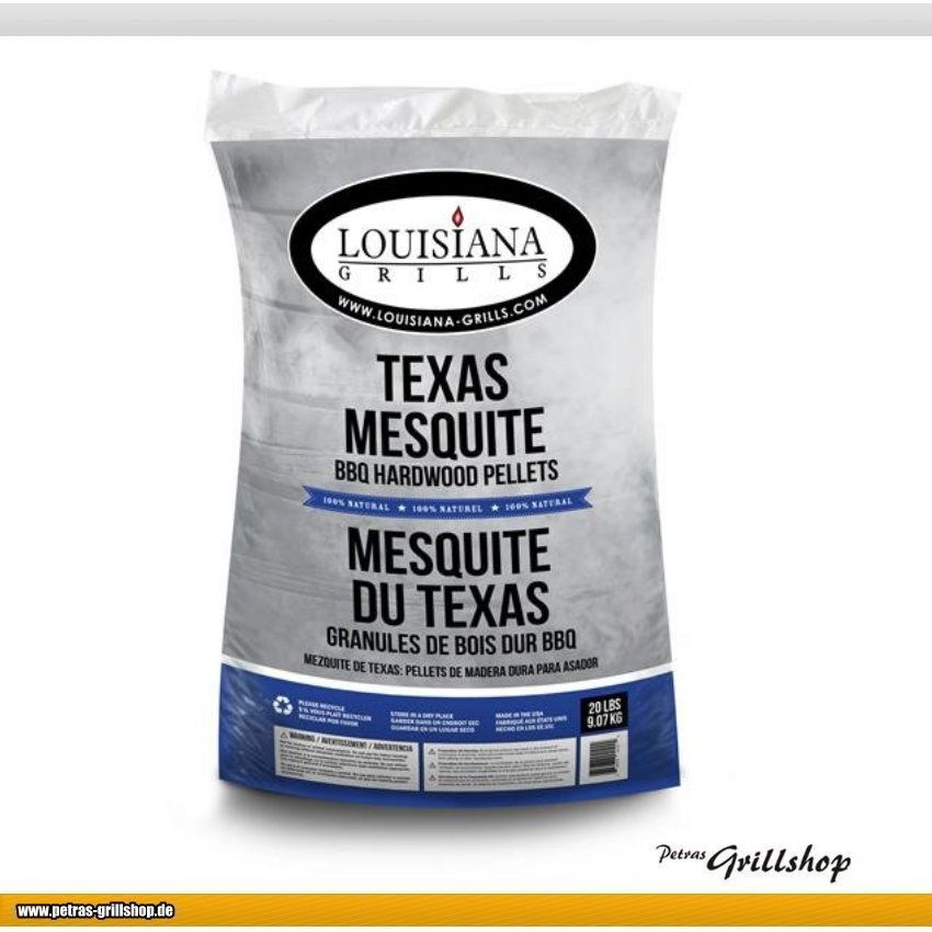 Grill Pellets *Texas Mesquite* von Louisiana