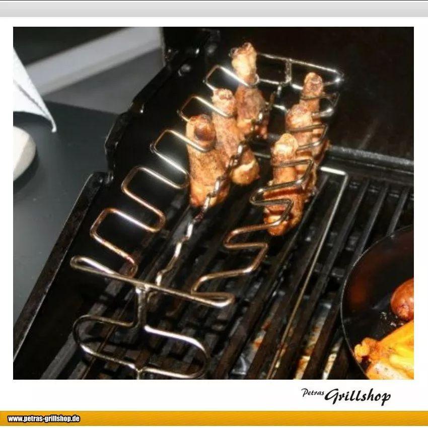Chickenwing Halter - BBQ Grillzubehör