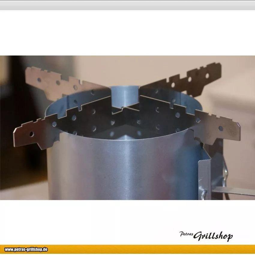 Dutch Oven AZK App, Anzzündhilfe - auch für Do-Deckel