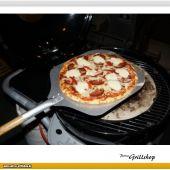 Pizzaschaufel - Pizzaheber - Pizzaschieber mit Holzstil