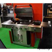 Allgrill Gasgrill Gourmet mit BBQ-Light