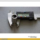 Thermometerdurchführung für BBQ-Drehspieß V10
