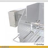 THÜROS Edelstahl Grillmotor für Aufsatz-Windansteckblech