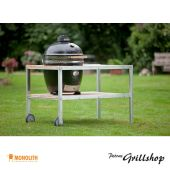 Monolith Grill Classic schwarz inkl. Tisch & Zubehör