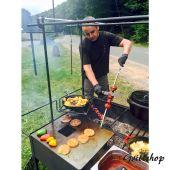 Grillplatte - 59 cm für Toms Westernküche